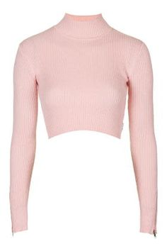 Turtle Neck Crop Top by UNIF TopShop