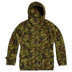 Nanamica Gore-Tex Cruiser Jacket (Camouflage )