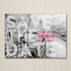 Items similar to Save The Date Magnets or cards, save-the-date postcards, Modern Save the Date, Digital Save the Date, custom Save the Date on Etsy