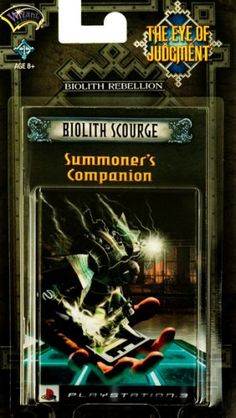 The Eye of Judgment Biolith Scourge Theme Deck  Playstation 3 ** Learn more by visiting the image link.Note:It is affiliate link to Amazon.