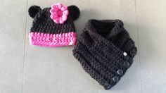 20141122_135918 Knitted Hats, Crochet Hats, Beanie, Mini Mouse, Mickey Mouse, Knitting, Kids, Google, Om