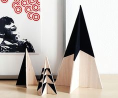 DIY wooden tree set