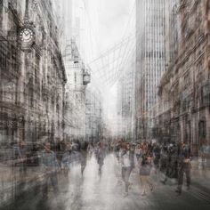 Multilayered Urban Photography by Grant Legassick #inspiration #photography