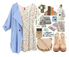 """""""Untitled #49"""" by tiaraputri174 ❤ liked on Polyvore featuring moda, H&M, Rosanna, Chloé y Jayson Home"""