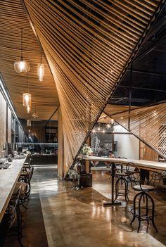 Usual Studio, Ten-arch, Rope Wave Office, Seil, Stahl, Shanghai, Tim Wu