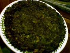 Persian Herb Omelette Kuku