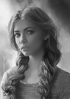 Woman: Realistic Pencil Drawings, Amazing Drawings, Amazing Art, Pencil Portrait, Portrait Art, Portrait Photography, Drawing Sketches, Art Drawings, Color Pencil Art