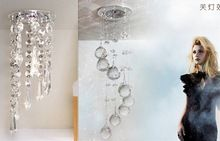 NEW arrival 3W LED crystal chandeliers lights modern LED lamps Lustre cristal lighting fixture chan deliers recessed entranceway(China (Mainland))