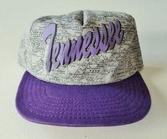 Vintage Tennessee Script Map Print Hat, $12.99