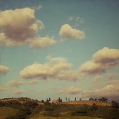 Under the Tuscan sky  Fine art landscape by EyePoetryPhotography, $30.00