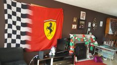 Anybody would think it's race weekend #F1isback #ForzaFerrari @ScuderiaFerrari & its #Mothersdayuk #excited https://t.co/oiBihNZqcO