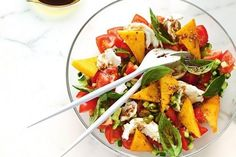Pretty up your Christmas table with these festive salads.