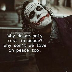 The Dark Knight The Jocker. Joker Love Quotes, Joker Qoutes, Heath Ledger Joker Quotes, Badass Quotes, Movie Quotes, Motivational Quotes In English, Sarcastic Quotes, Quotable Quotes, True Quotes