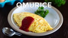 "How To Make Omurice / Omelette Rice - Netflix ""Midnight Diner"" (Recipe) ..."