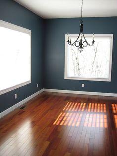 Smokey Blue by Sherwin Williams (master bedroom)
