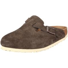 019c0880b358 AwesomeNice Birkenstock Clogs   Boston   from Leather in Mocha with a  regular insole