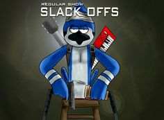 Call of duty Black opps parody... Regular Show SLACk OFFS...