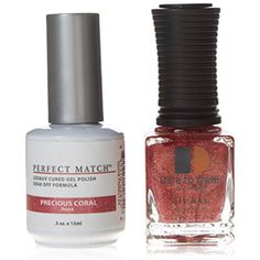 Le Chat Perfect Match Uv Gel/Polish Combo - /Mermaids Treasures/Risti Retreat/Floral Fantasy, Precious Coral * Check this awesome product by going to the link at the image. (This is an affiliate link) #NailPolish