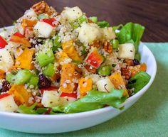 Roasted Sweet Potato Quinoa Salad