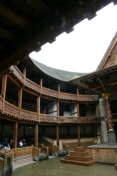 London, The Globe Theatre -saw A Midsummer Night's Dream, as a groundling, in the rain. My heart cried. #love #bucketlist