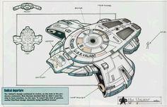 Concept Art USS Defiant