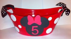 Minnie Mouse chips Tray