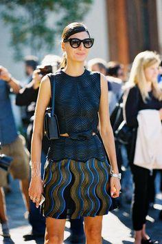 Giovanna Battaglia by Vanessa Jackman: Paris Fashion Week SS 2015