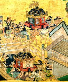 Tokyo largest traditional  sacrifice festival