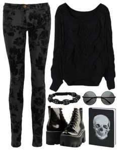 this is perfect!! Just not the skull thing and different boots