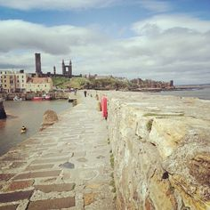 St Andrews Pier with Cathedral in the background - Photo by finnyjones