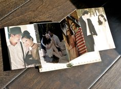 Inside of the book (accordion photo album)