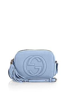 2546d8e07e0 Gucci Soho Nubuck Leather Disco Bag Blue Gucci Bag