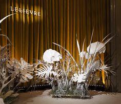 Décoration showroom Lelièvre // Paris Déco Off 2019 - création florale SPICA Paris - photographie Lucien Pérochon Paris, Lucien, Creations, Curtains, Table Decorations, Showroom, Design, Furniture, Home Decor
