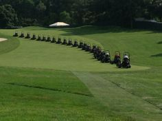 Toro mowers on 5 fwy...it never gets old to me. Grn to T and T to Grn.