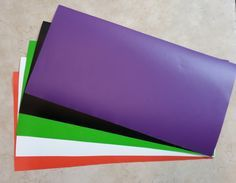 Adhesive vinyl - 12x24, 12x12, - works with cricut expression, cameo and all vinyl cutters.