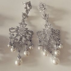 New David Tutera earrings!