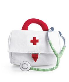 Yeah, I think that I could make this to put my childhood doctors kit in for my kids.
