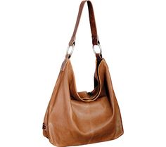 Ellington Sadie hobo in cognac - in my eye color  probably better for a moulded body type than for my muscular type, but I like it nonetheless