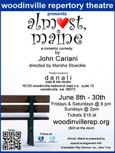 Woodinville Repertory Theatre's production of Almost, Maine