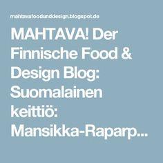 MAHTAVA! Der Finnische Food & Design Blog: Suomalainen keittiö: Mansikka-Raparperi-Brita ( Erdbeer-Rhabarber-Torte )