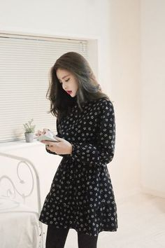 Honey Bean Dress   Korean Fashion