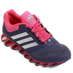 Tênis Adidas Springblade Drive 3 - Roxo+Rosa Netshoes 7e31fde374666