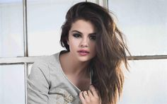 Download wallpapers Selena Gomez, 4k, American singer, portrait, beautiful woman