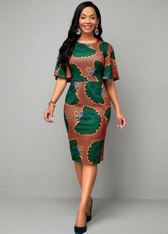 Africa Fashion 490470215672637961 - This dress is so elegant and sophisticated great for wearing on special occasions.Good material, size generous and happy with purchase. Source by fashionrotita Short African Dresses, Latest African Fashion Dresses, Ankara Fashion, Tribal Fashion, Ladies Fashion Dresses, Emo Fashion, African Dress Styles, African Women Fashion, Nigerian Dress Styles