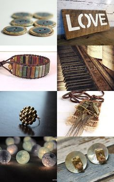 A real beauty here by LiveLifeCreatively on Etsy. Love these muted tones - absolutely fantastically curated. Plus I was included too!--Pinned with TreasuryPin.com