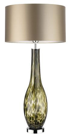 Designer Green Tortoiseshell Art Glass Lamp, sharing luxury designer home decor inspirations and ideas for beautiful living rooms, dinning rooms, bedrooms & bathrooms inc furniture, chandeliers, table lamps, mirrors, art, vases, pillows & accessories courtesy of InStyle Decor Beverly Hills enjoy & happy pinning