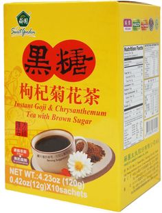 CHRYSANTHEMUM TEA W BROWN SUGAR 236190S121