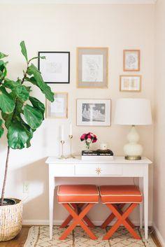 Gallery wall styling! #PaperAnniversary