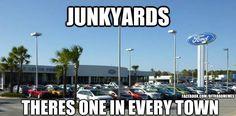Well at least Burnsville got rid of their junkyard