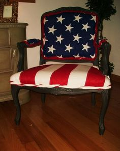 Image result for bergere chair flag